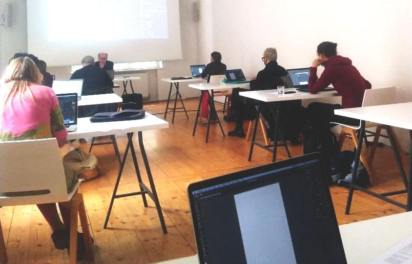 Wieder live! Workshop InDesign Basics